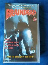 Braindead – VHS Video PAL Peter Jackson Horror