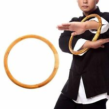 New listing Chinese Kung Fu Hoop Wood Rattan Ring Wing Chun Hand Strength Training Set New