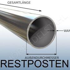 2 Meter lang 80 mm Rohr RESTPOSTEN 3 mm Wandung Edelstahl als Sonnensegel Mast
