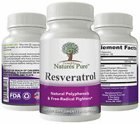 Resveratrol 1400mg 90 Capsules 45 Day Supply Extracts from Japanese Knotweed +++