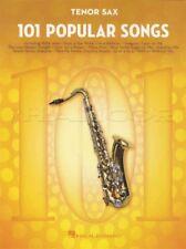 101 Popular Songs for Tenor Sax Saxophone Sheet Music Book Michael Jackson