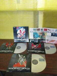 Macross : Do You Remember Love Laser Disc LD box japan Full version