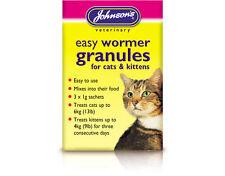 Johnson's Veterinary Easy Round Wormer Granules for Cats & Kittens