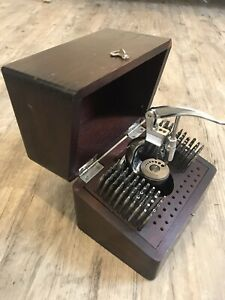 Vintage Watchmaker Staking Set Tool