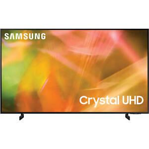 "Samsung AU8000 65"" 4K Ultra HD HDR Smart LED TV - 2021 Model"