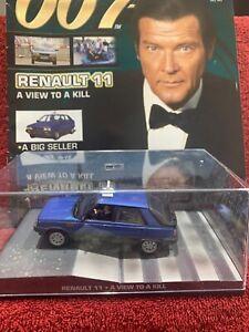 james bond car collection Renault 11 And Magazine
