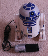 Hasbro Star Wars Electronic Remote Control R2-D2 WORKS GREAT SOUNT AND MOTION