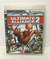 MARVEL ULTIMATE ALLIANCE 2 PlayStation 3 PS3 Complete MINT DISC Free Shipping