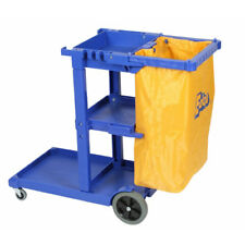 new EDCO Multi use Janitors Cleaning Trolley with Bag