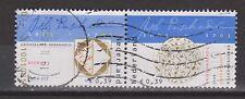NVPH Netherlands Nederland 2162 -2163 pair used 300 jaar Johan Enschede 2003