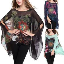 Polyester Long Sleeve Floral Tops & Blouses for Women