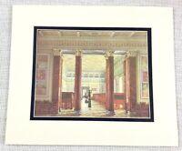 1983 Vintage Stampa The Inverno Palazzo Russia Romanov Galleria Di Monete E