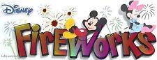 Ek success jolee's boutique disney 3-D stickers mickey minnie disney feux d'artifice