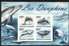 Burundi 2011 Fauna Mammals Marine Dolphins 2011 imperforated