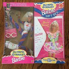 Barbie Doll Olympic Gymnast Gift Set New in Box Atlanta 1996 Greeting Card NIB
