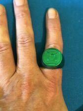 Dc Comics Green Lantern Ring Blackest Night One Size Adult Plastic