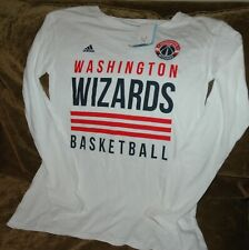 Washington Wizards long sleeve shirt women's small NEW with tags Adidas vintage