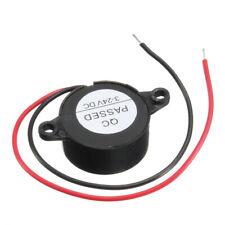Piezo Electronic Buzzer Alarm 3-24VDC 12V Continuous Sound Arduino Mouting Holes