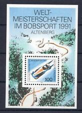 Bund/BRD Block 23  Mi-Nr. 1496 WM Bobsport Altenberg **  postfrisch