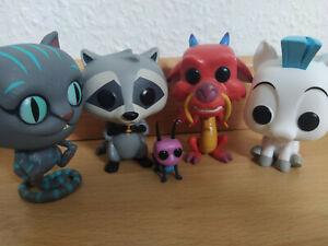Funko Pop - Bundle - Disney - Lot Hercule Mulan Alice Pocahontas