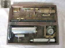 19C. ANTIQUE FRENCH WINE TESTING BRONZE DEVICE MARKED w/BOX RARE!