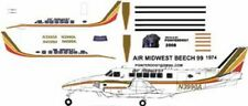 Air Midwest Beechcraft Beech-99  decals for 1/144 kits