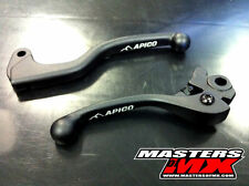 APICO FACTORY BLACK FORGED BRAKE & CLUTCH LEVER SET - YAMAHA YZF250 09-17