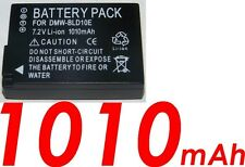 ★★★ 1010 mAh ★★★ Batterie Pour PANASONIC LUMIX DMW-BLD10/BLD10E Pour DMC-GX1K