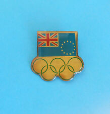 COOK ISLANDS NOC - nice rare olympics pin badge * Olympic Games