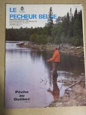 LE PECHEUR BELGE: N°11: DECEMBRE 1986: PECHE ET PISCICULTURE - PECHE AU QUEBEC