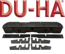 DU-HA 10400 Underseat Storage Gun Case Box 2019 Chevy Silverado Crew Cab Black