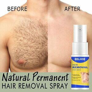 Permanent Hair Removal Spray Face Arm Armpit Leg Inhibitor Stop Hair Growth