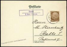 Germany Tracht Sudetenland 1938 Annexation Provisional Cover 67948