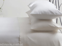 100% EGYPTIAN COTTON SATIN STRIPE FITTED BED SHEET 800  THREAD COUNT