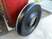 VINTAGE 1930s MOTORCYCLE SIDECAR SERVI CAR SPARE TIRE CARRIER