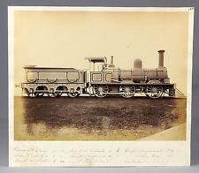 c1867, 2nd locomotive in URUGUAY, 'Montevideo', rare photo, manning WARDLE!