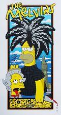 2015 Melvins London The Simpsons Homer Sex Pistols Concert Poster 10/10 #/100S/N