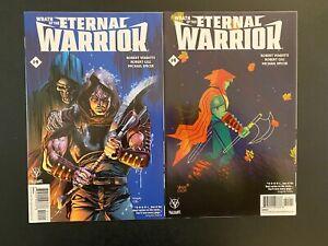 Wrath of the Eternal Warrior 14 w/Variant Gem Mint Uncirculated Valiant QL57-63