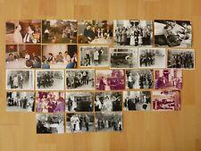 Konvolut Sammlung 26x altes Foto alte Fotos Menschen Personen Hochzeit ...