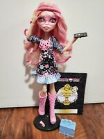Monster High Viperine Gorgon Frights Camera Action Doll & Accessories COMPLETE