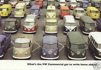 CLASSIC VW TRANSPORTER - Collectors Card Set - Kombi Microbus Pick Up Camper Van