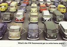 CLASSIC VW TRANSPORTER - Collectors Card Set - Kombi Microbus Pick Up Camper Van