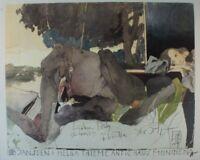 Horst Janssen Helga Thieme Koderne Kunst im Antic-Haus St. Gertrude G-2640