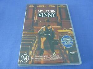 My Cousin Vinny DVD Joe Pesci Ralph Macchio Marisa Tomei R4 Free Tracked
