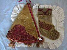 Christmas Tree Skirt And Stocking