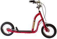 Scooter 12 Push & Kick Red Toucan big wheels