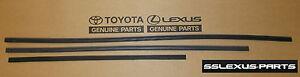 Lexus RX350 RX450H (2010-2015) OEM Genuine WIPER BLADE RUBBER INSERTS REFILL SET