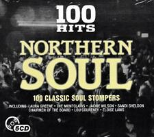 100 HITS NORTHERN SOUL - VARIOUS ARTISTS (NEW  SEALED 5CD)