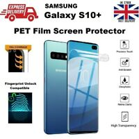 Full Curved Fingerprint Unlock Compatible PET Protective Film for Samsung S10+