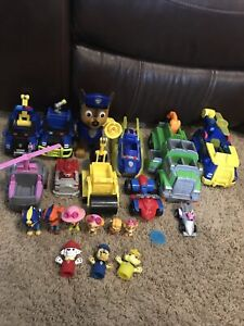 Paw Patrol Lot Vehicles And Figures